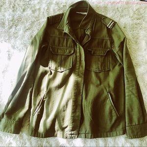 Zara Basic military jacket / shirt, sz. S